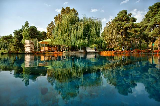 Saee Park, Abbasabad, Tehran, Iran (Persia)  پارک ساعی، عباس آباد، تهران، ایران