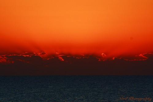 ocean sunset beach water clouds sunrise sand florida