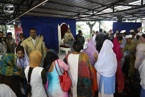 Devotees seeking blessings: June 11