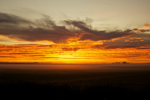 city fog clouds sunrise colorado texas tx ground efs1855mmf3556is