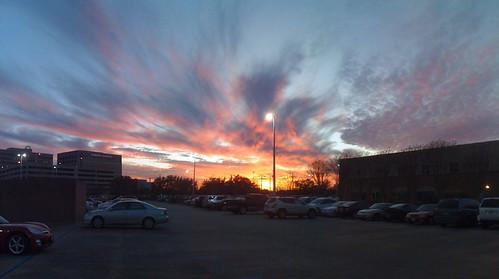 sunset sky panorama pano iphone