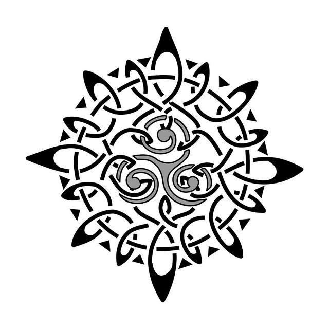 Maori Sun Tattoo: Juan David Navarro Sossa