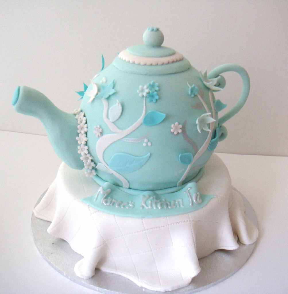Teapot Cake Teapot For A Kitchen Tea In The Bride S