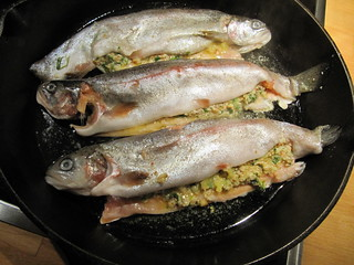 Panfried Trout Almondine | by srett