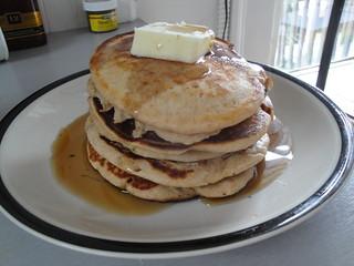 tyler - Dad's Buttermilk Wheat Pancakes