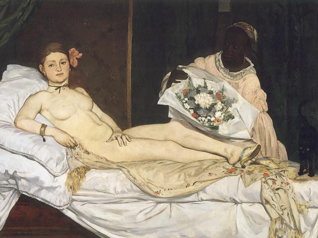 Edouard Manet:  Olympia (1863)
