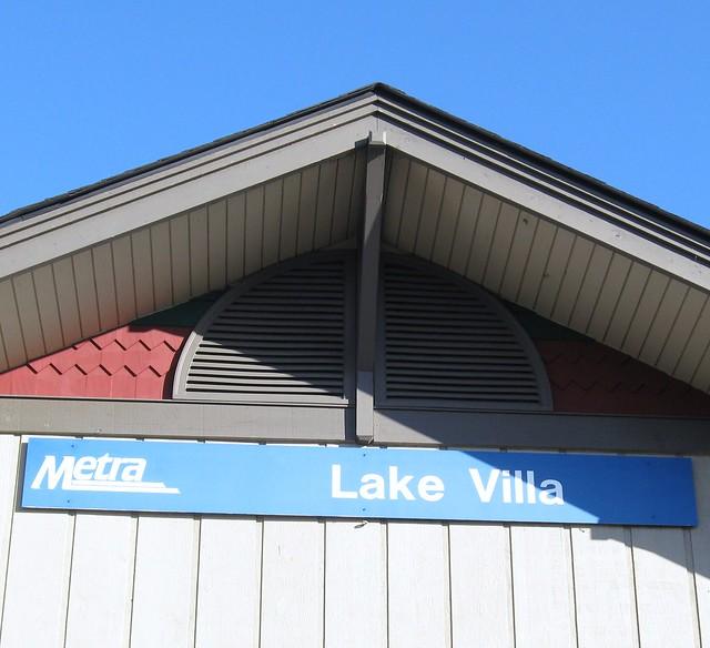 Lake Villa Metra Station