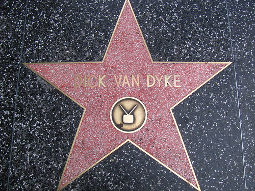 Dick Van Dyke's Star on Hollywood Boulevard | by Castles, Capes & Clones