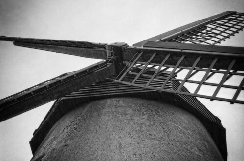 Bembridge Windmill in the  Rain | by Hexagoneye Photography