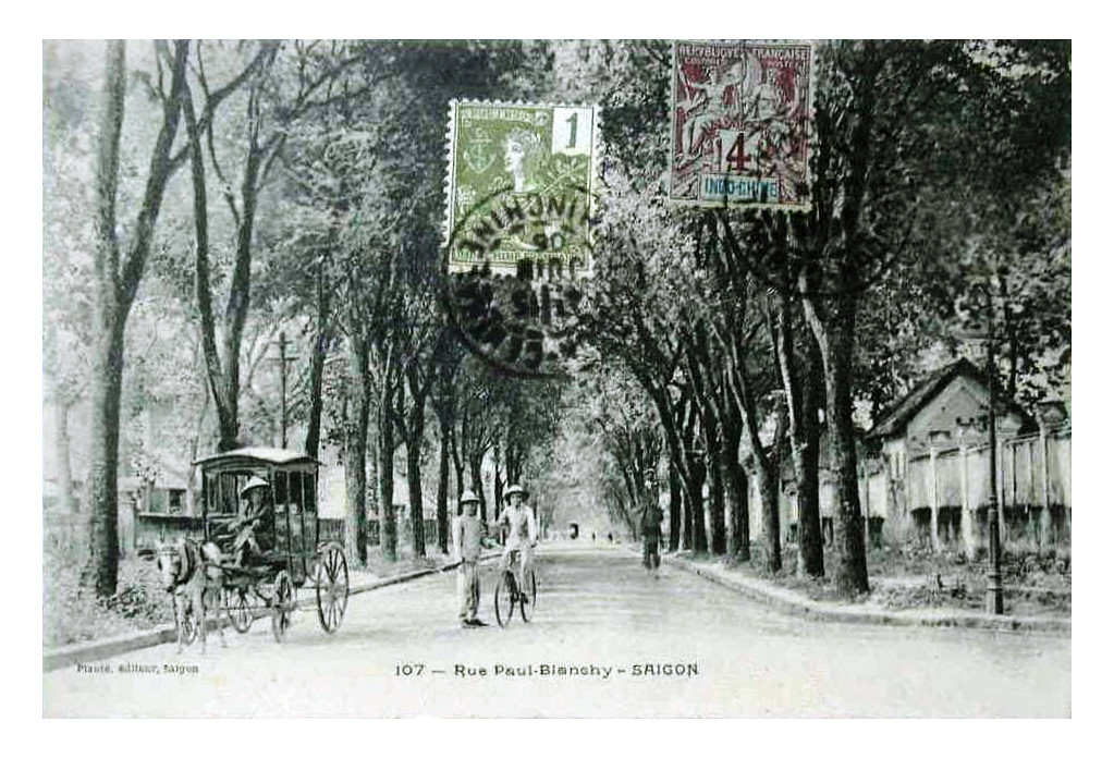 SAIGON - RUE PAUL BLANCHY