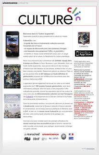 Page CultureClic sur universcience