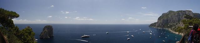 Veduta Faraglioni (Capri)