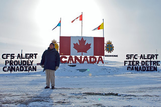 Ambassador Jacobson in Alert, Nunavut | by US Embassy Canada