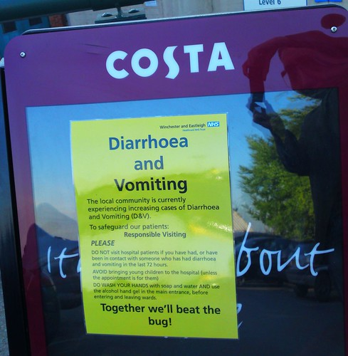 Costa Coffee - Risk of Diarrhoea and Vomiting | by Hexagoneye Photography