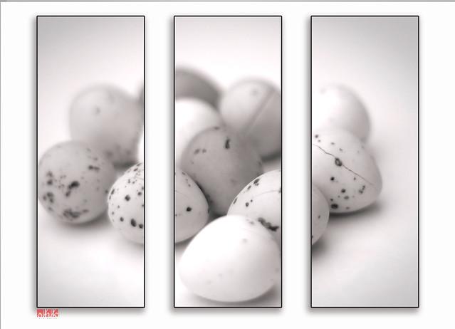 Eggs triptych   Explored