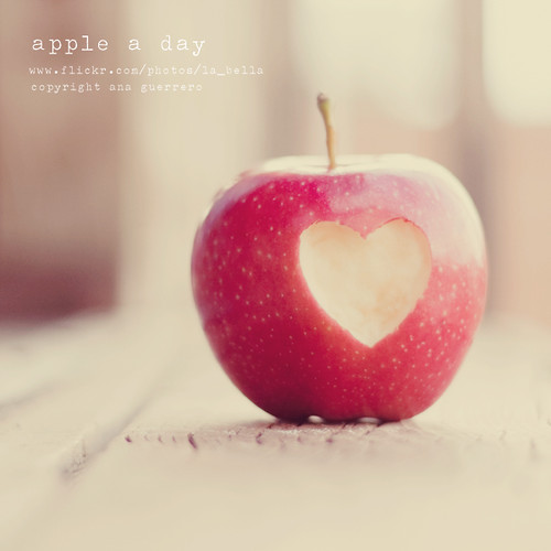 . apple a day . *Explored* | by * Ana.Guerrero *