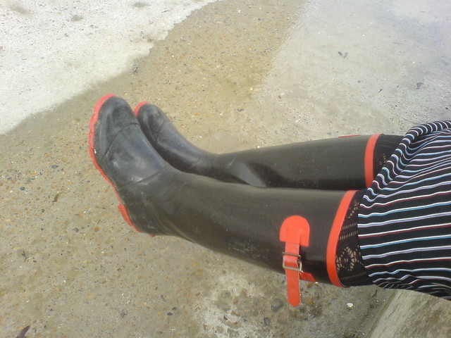 Wellingtons in Rottingdean
