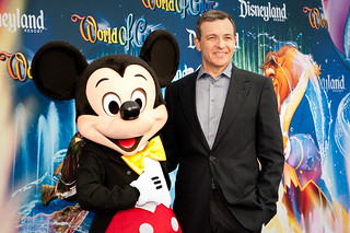 Bob Iger- World of Color Premiere - Disney California Adventure Park | by hyku