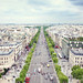 Champs-Élysées from above by cgines
