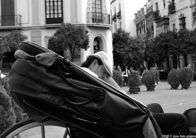 La siesta en Sevilla es una maravilla