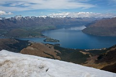Lake Wakatipu from the summit