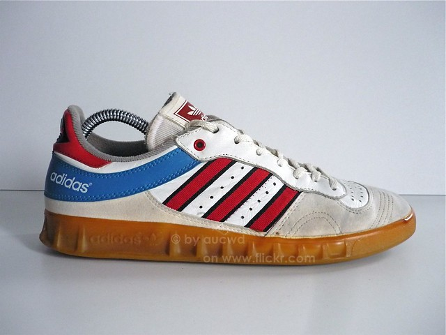 70`S / 80`S VINTAGE ADIDAS HANDBALL LOW SHOES | - made in we ...
