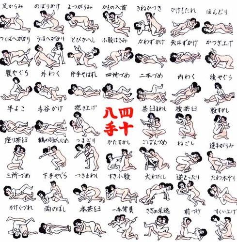Japanese styles of sex