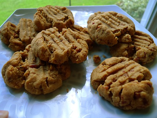 Peanut Butter & Bacon Cookies for Todd's Superbowl Party | by SanFranAnnie