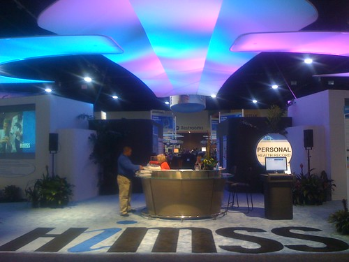 Entrance to the HIMSS Interoperability Showcase   by mccready