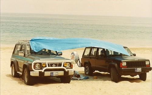 siesta by Gulf of Oman