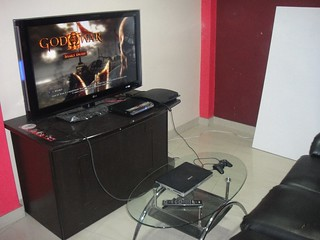 HDTV and PS3 Now enjoy
