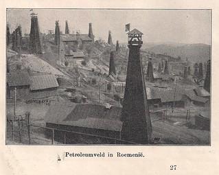 petroleum fields in Romania 1939