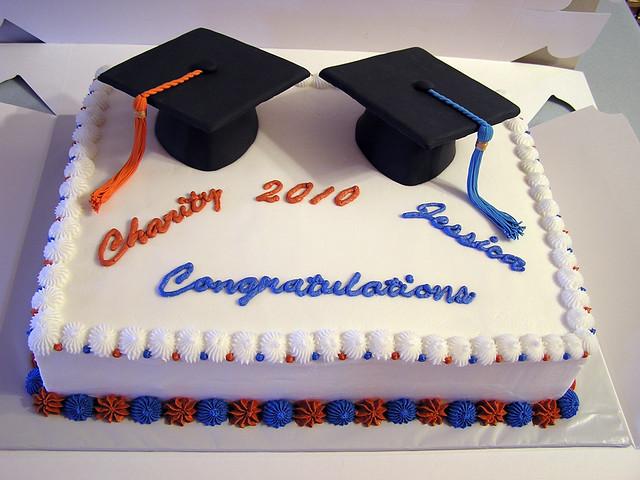 2 School Graduation Cake