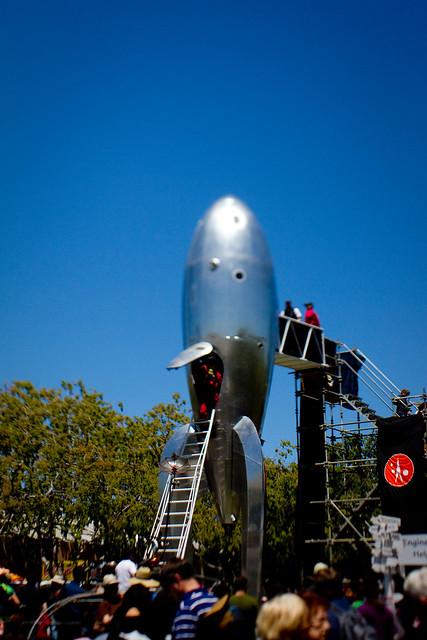 Maker Faire 2010: rocket