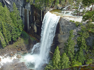 Vernal Falls from near the Nevada Falls cutoff | by Alaskan Dude