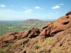 Climbing Camelback from Echo Canyon TH