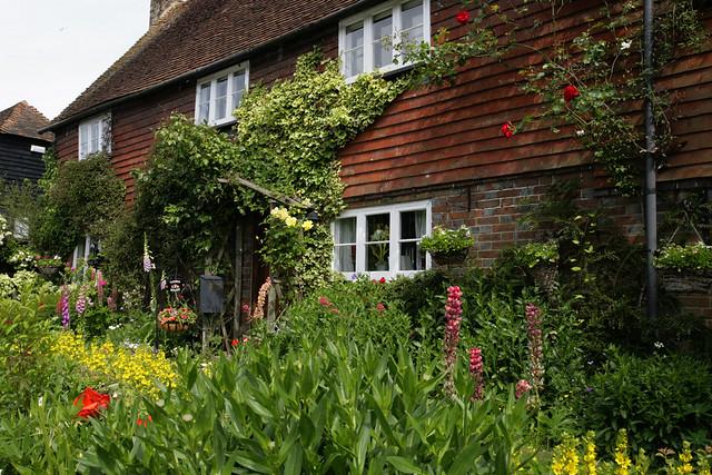 Kent cottage garden
