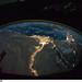 Cairo and Alexandria, Egypt at Night (NASA, International Space Station Science, 10/28/10) by NASA's Marshall Space Flight Center