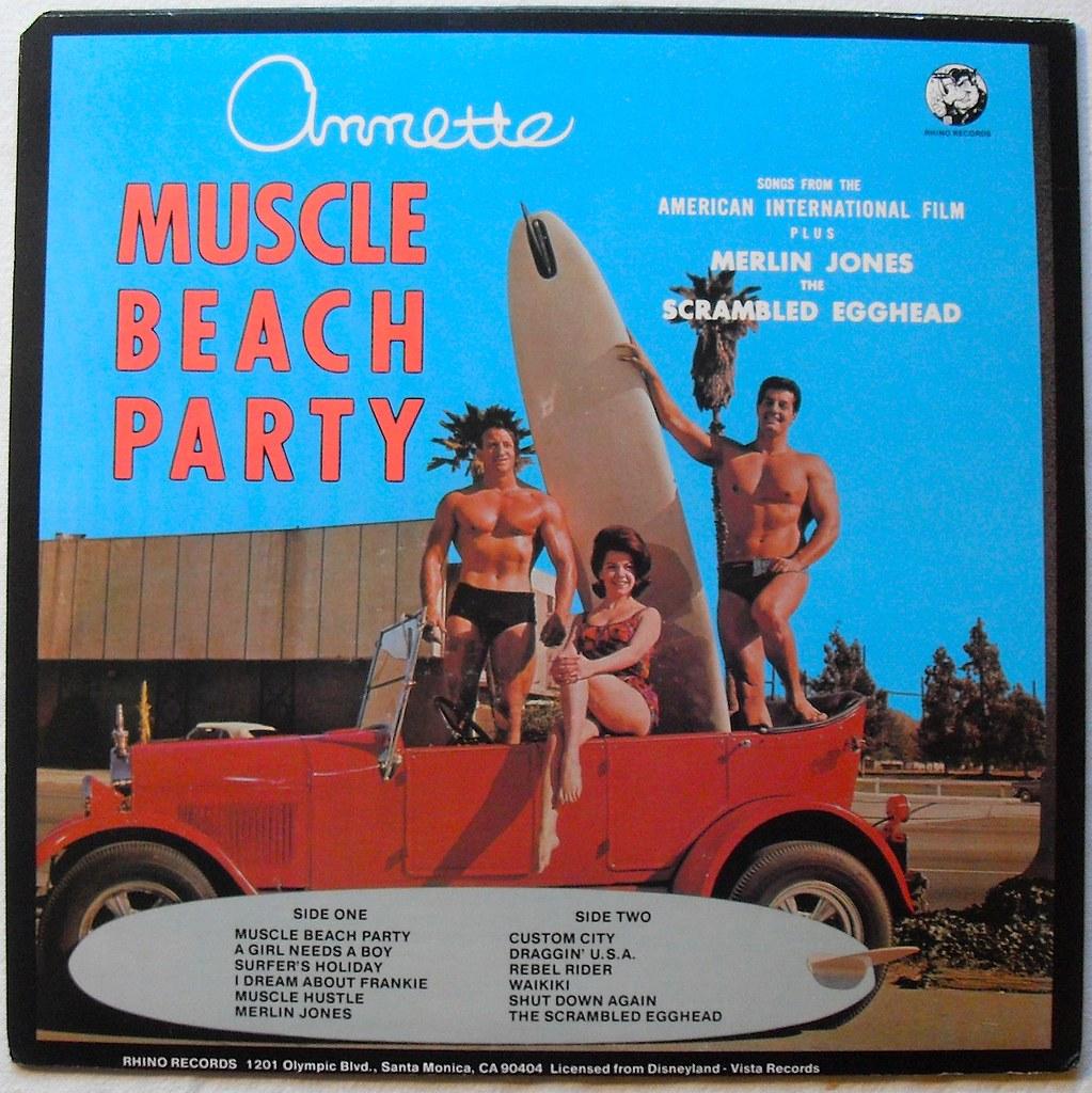 1964 Muscle Beach Party 1960s vintage vinyl record album L…   Flickr