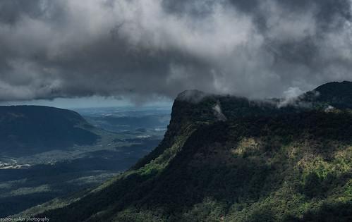 border ranges national park new south wales clouds landscape mountain