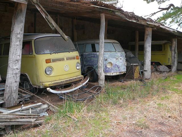 VW Kombi farm