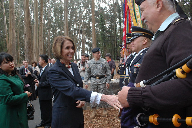 Nancy Pelosi for Veterans Day