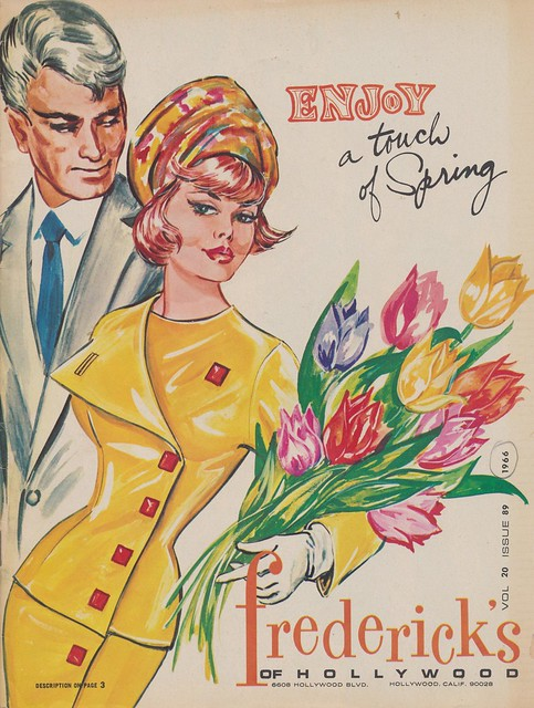 Enjoy a Touch of Spring -  Spring 1966 Frederick's of Hollywood Catalog