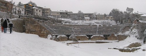 Amphitheater in Ohrid, Macedonia | by plepe