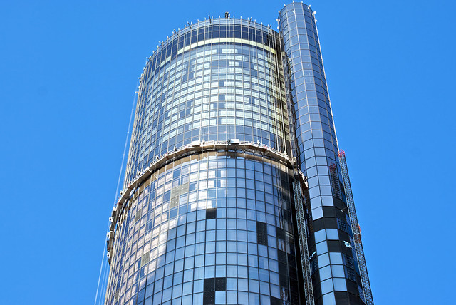 Windows at the Westin Peachtree Plaza March 16, 2010