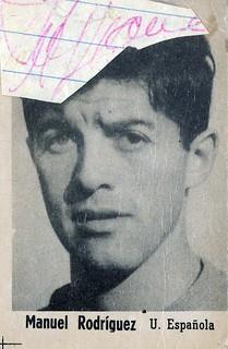 Manuel Rodriguez, el futbolista