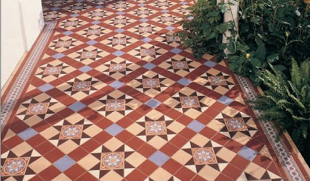 Original Style - Blenheim pattern incl  Livingstone tiles …   Flickr