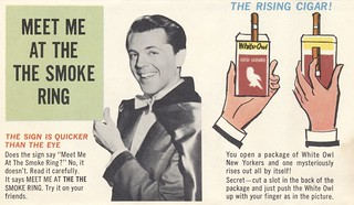 Meet Me at the Smoke Ring | by The Cardboard America Archives