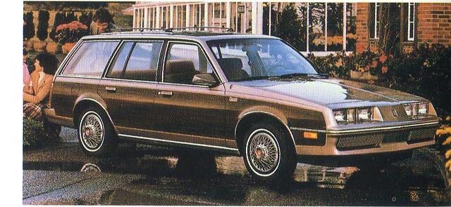 1983 Oldsmobile Firenza Cruiser