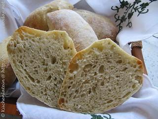 ©Ciabatta Brötchen mit Bärlauch - Ciabatta buns with ramson 002